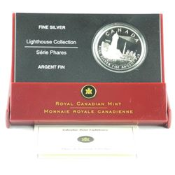 .9999 Fine Silver $20.00 Coin 'Lighthouse' LE/C.O.
