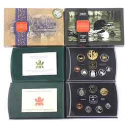Lot (2) RCM 2002 Proof and Specimen Coin Sets with
