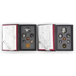 Lot (2) RCM Proof Coin Sets 1991 and 1995