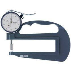 Mitutoyo 7322S Dial Thickness Gauge, Flat Anvil, I