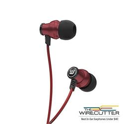 Brainwavz Delta Red IEM In Ear Earbuds Noise Isola