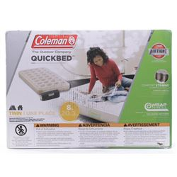 Coleman Soft Plush Top Inflated Quickbed- Twin