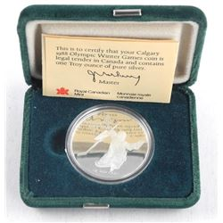 1988 925 Sterling Silver $20.00 Coin Proof Olympic