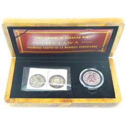 RCM 100th Anniversary Coin and Stamp Set