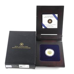 2011 $5 Sterling Silver and Niobium Coin - Full Bu