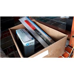 BOX OF FAN CLUTCH WRENCH, STEREO INSTALLATION KIT, AND REMOVAL TOOL
