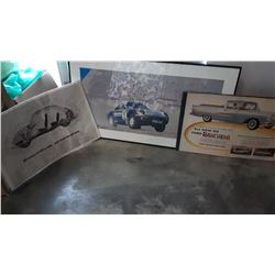 CAR PRINT AND ADVERTS