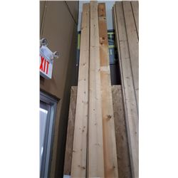 """LOT OF 10 - 14 2""""X6"""" LENGTHS"""