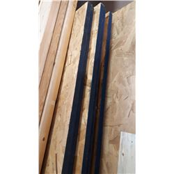"""LOT OF 7 1""""THICK 4X8 OSB PLYWOOD"""