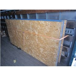 """LOT OF 6 - 1"""" THICK 4X8 OSB PLYWOOD SHEETS"""