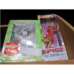 GHOST BUSTERS GIFT SET SPICE GIRLS DOLL