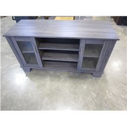 "NEW INSIGNIA GREY TV STAND 55"" - RETAIL $299"