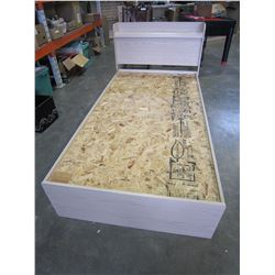 SINGLE SIZE PALLISAR BED FRAME W/ STORAGE