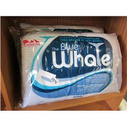 2 BLUE WHALE PILLOWS