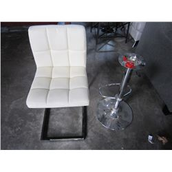 BARSTOOL, CHAIR AND BASE