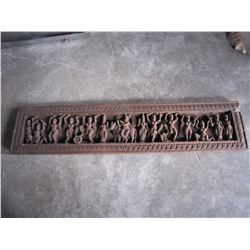 EASTERN WOOD WALL CARVING