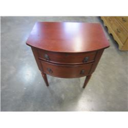 BOMBAY CO 2 DRAWER NIGHT STAND