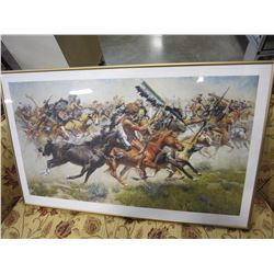 LEP FRANK MCCARTHY LAST STAND AT LITTLE BIGHORN