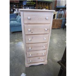 PINE 6 DRAWER CHEST OF DRAWERS