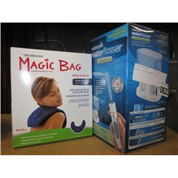 WATER PIK AND MAGIC BAG