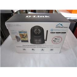 DLINK PAN AND TILT CAMERA W/ NIGHT VISION