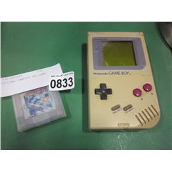 ORIGINAL GAMEBOY AND GAME