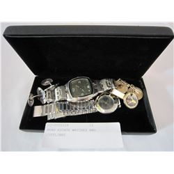 MENS ESTATE WATCHES AND CUFFLINKS