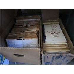 VINTAGE COUNTRY 78S AND LPS AND 45S