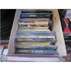 30 ACTION DVDS, ANNE OF GREEN GABLES COLLECTION AND BOX OF CDS