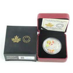 .9999 Fine Silver $20.00 Coin 'Cougar - Perched on a Maple Tree' LE/C.O.A.