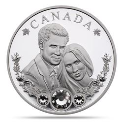 2018 .9999 Fine Silver $20.00 Coin 'Royal Wedding