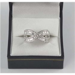 925 Sterling Silver Ring Set with Swarovski Elemen