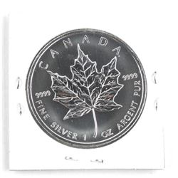 .9999 Fine Silver Maple Leaf Coin 2013 $5.00