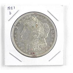 USA Morgan Silver Dollar 1921 (d)