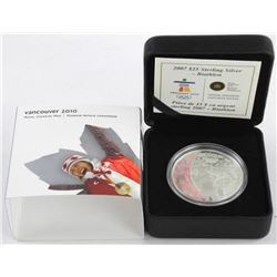 2007 - 925 Sterling Silver $25.00 Olympic Coin