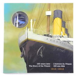 1912-2012 Titanic Colour Coin Folio