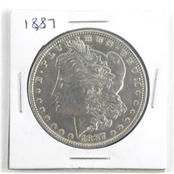 1887 USA Silver Morgan Dollar
