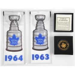 TML Coin, First Game ACC - FEB 20, 1999 24kt Gold Plated over 1oz .9999 Fine Silver with C.O..A Plus