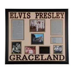 Elvis Presley Graceland Collage