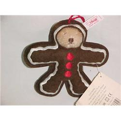Steiff Christmas Ornament Gingerbread
