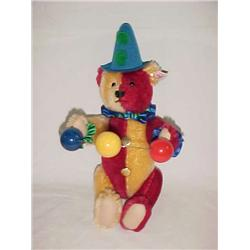 Steiff Clown Bear  13 in.