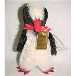 Mohair Penguin by Grizzley 6 1/2 in.