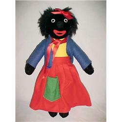 Flo  15 in.  Black Doll