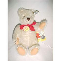 Steiff White Bear 7 in. Collector's Edition