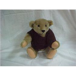 Blond 16 in. Bear w/Brown Sweater