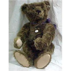 Dark Brown Growler    Steiff Bear 29 in.