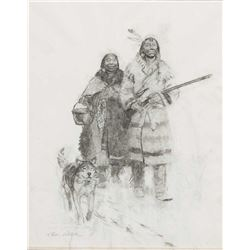 Tom Lovell-Two Indians