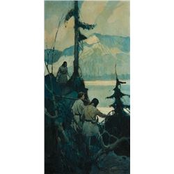 Frank Schoonover-We Had Some Difficulty Descending the Mountain