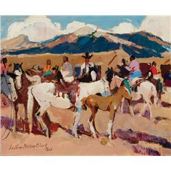 Laverne Nelson Black-Indians and Saddle Ponies