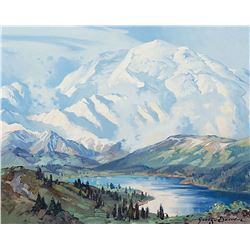 George Browne-Mt McKinley from the East Hills